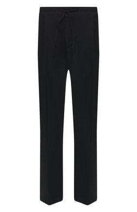 Мужской хлопковые брюки BOTTEGA VENETA черного цвета, арт. 553182/VFZU1 | Фото 1