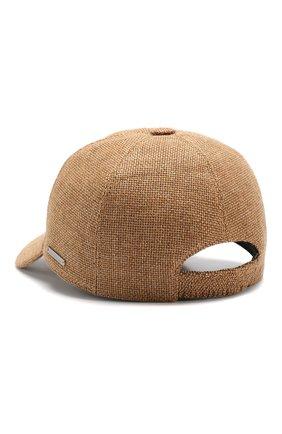 Мужской бейсболка  ERMENEGILDO ZEGNA светло-коричневого цвета, арт. Z5I10/B2F | Фото 2