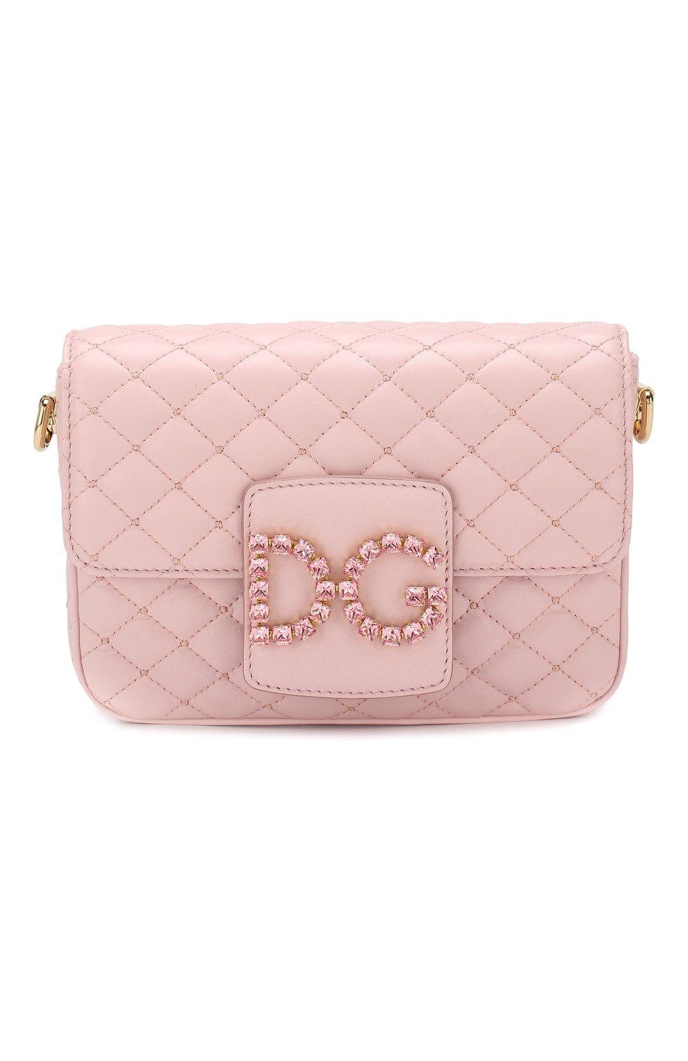 Сумка DG Millennials Dolce & Gabbana светло-розовая цвета   Фото №1