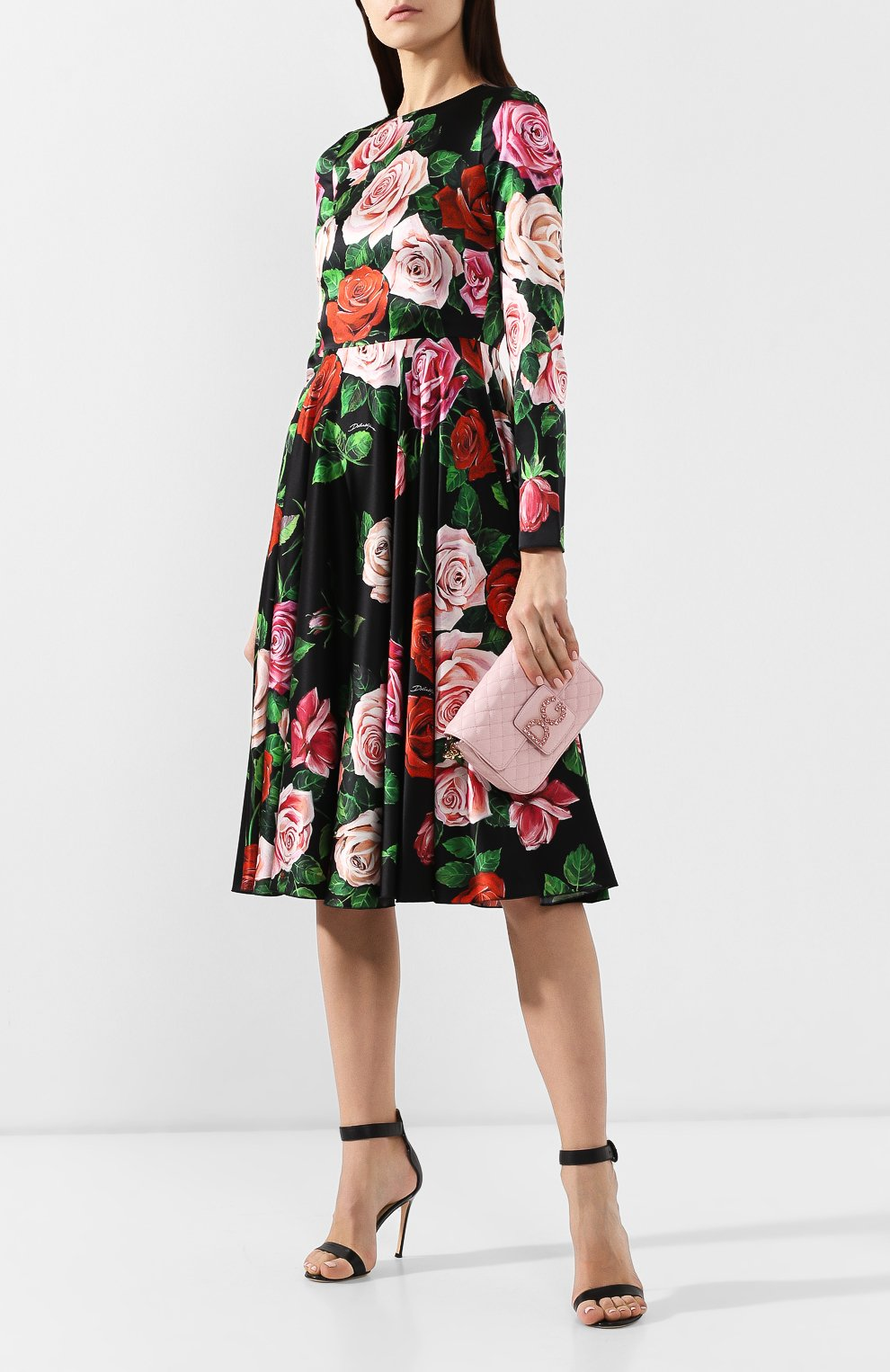 Сумка DG Millennials Dolce & Gabbana светло-розовая цвета   Фото №2