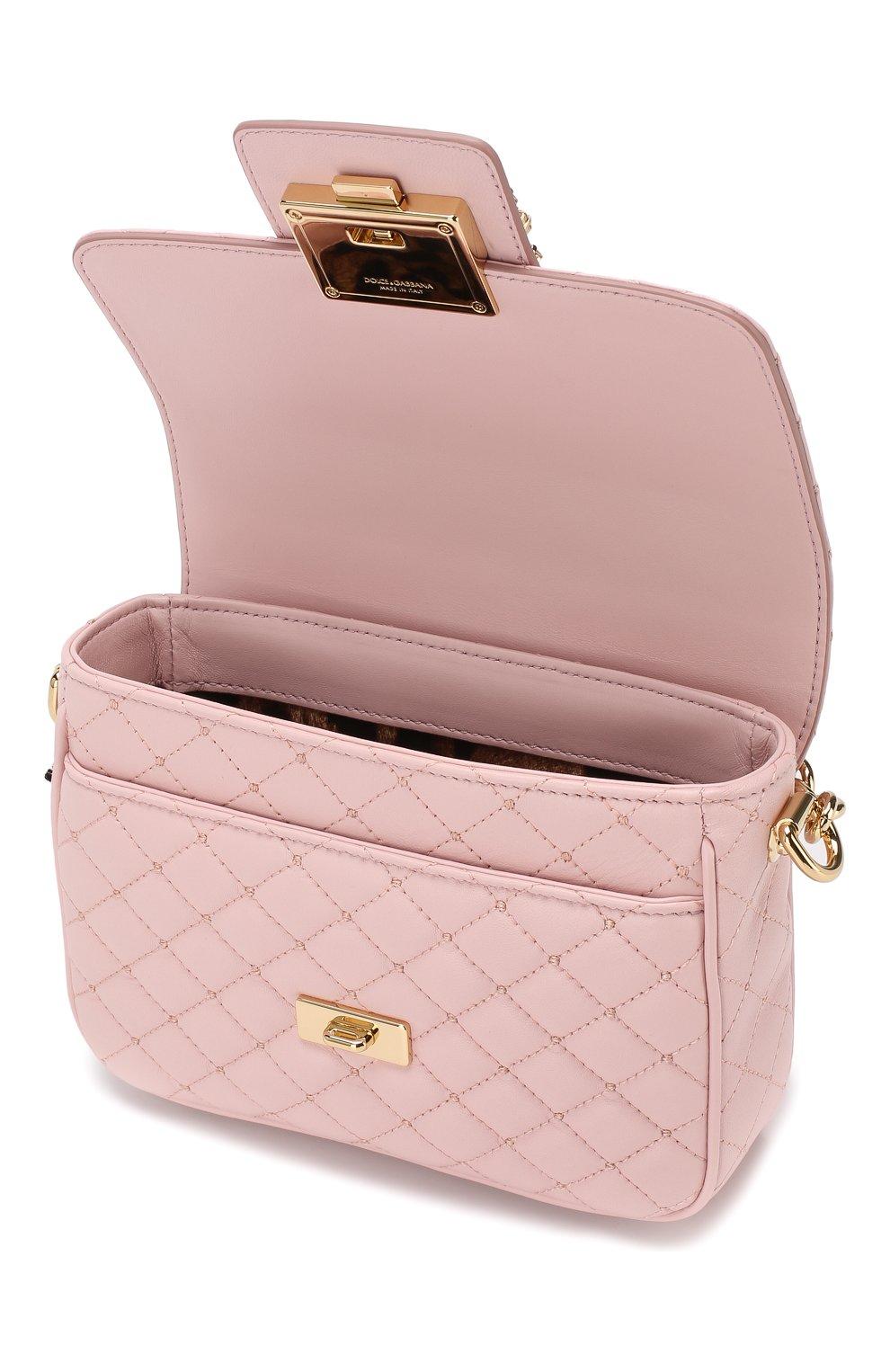 Сумка DG Millennials Dolce & Gabbana светло-розовая цвета   Фото №4