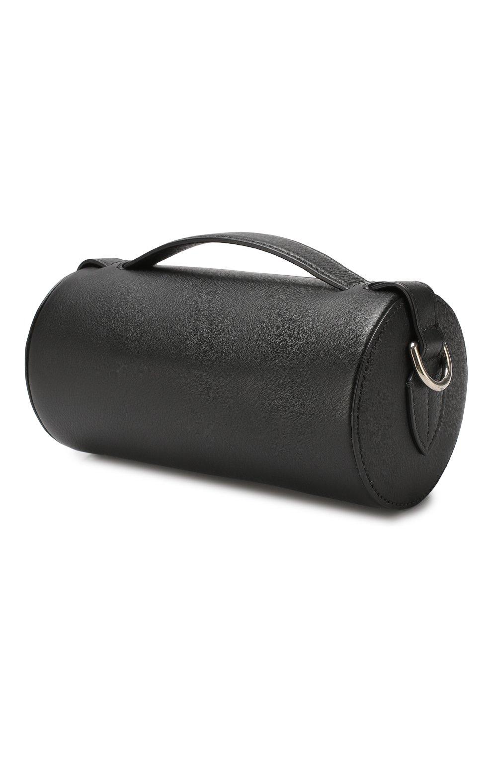 Сумка Barrel Burberry черная цвета | Фото №3