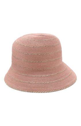 Шляпа с контрастной отделкой | Фото №1