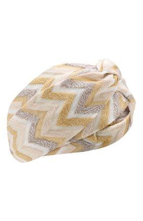 Хлопковая повязка на голову | Фото №1