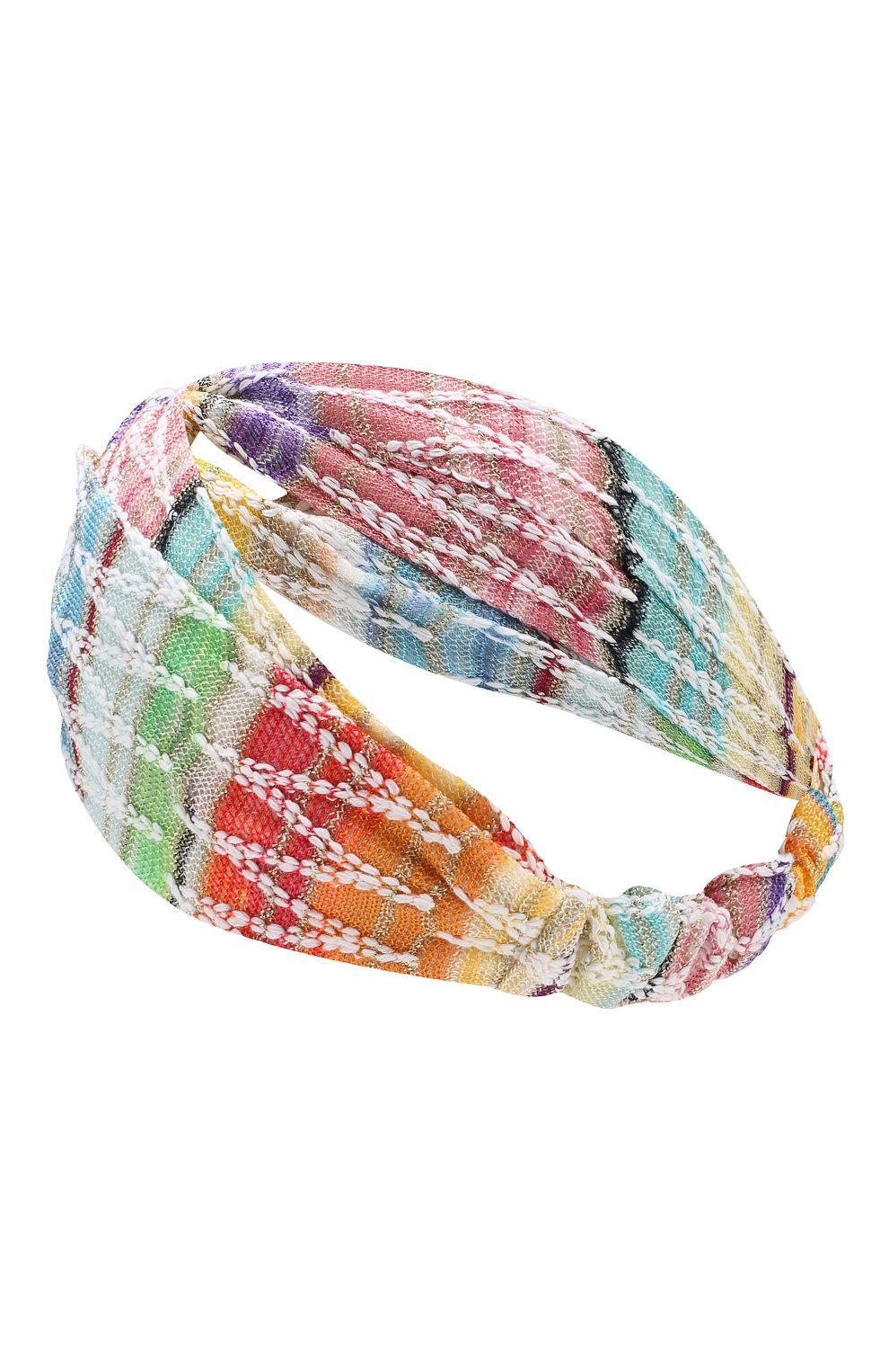Повязка на голову Missoni разноцветного цвета | Фото №2