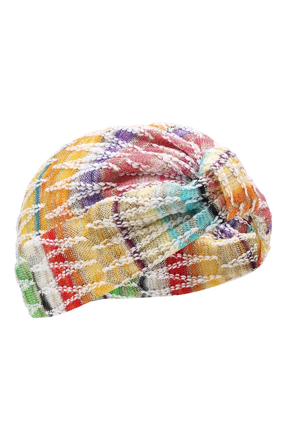 Женская вязаный тюрбан MISSONI разноцветного цвета, арт. MMS00005/BR001Q | Фото 1