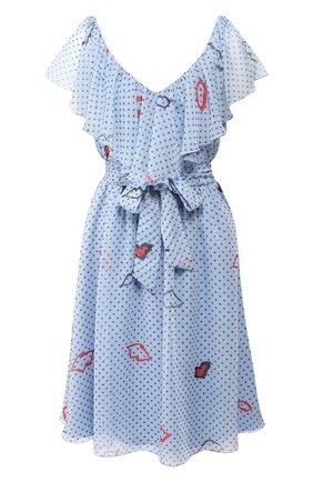Платье с оборкой | Фото №1