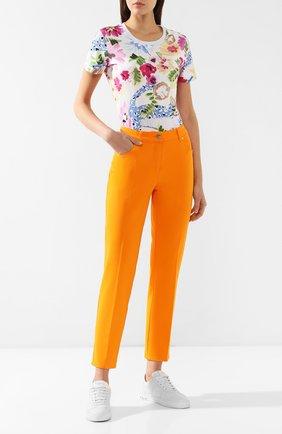 Женские джинсы ESCADA оранжевого цвета, арт. 5028283 | Фото 2