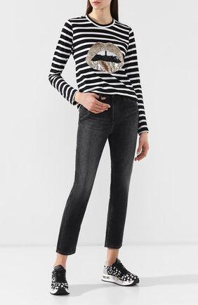 Женские джинсы AG серого цвета, арт. BKS1753/10YCUC | Фото 2