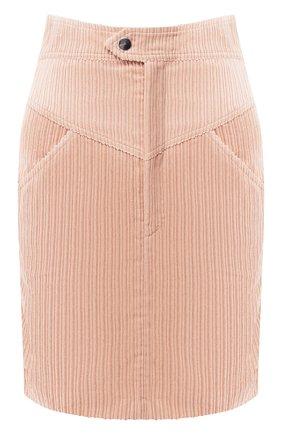 Вельветовая юбка | Фото №1