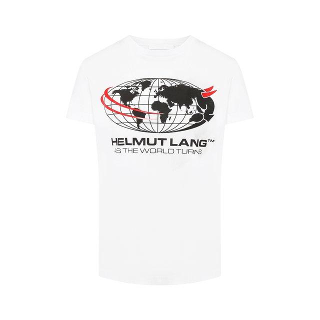 Хлопковая футболка Helmut Lang