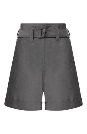 Женские хлопковые шорты BRUNELLO CUCINELLI темно-синего цвета, арт. M0H91P6907 | Фото 1