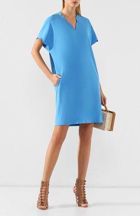 Женское платье ESCADA голубого цвета, арт. 5029071 | Фото 2