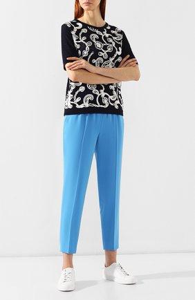 Женские брюки ESCADA голубого цвета, арт. 5029253   Фото 2