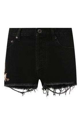 Джинсовые шорты Off-White черные | Фото №1