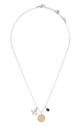 Женская кулон zodiac SWAROVSKI серебряного цвета, арт. 5349216 | Фото 1