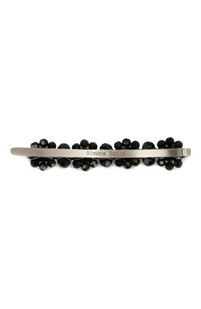 Женская заколка для волос с декором SIMONE ROCHA черного цвета, арт. CLP4/0903   Фото 2