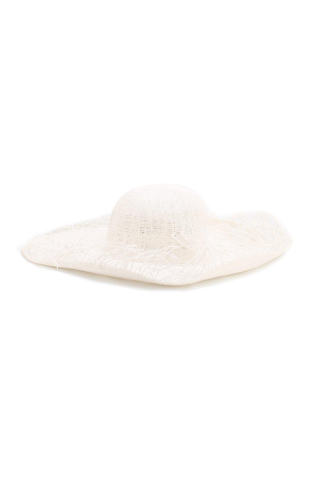 Женская шляпа JACQUEMUS белого цвета, арт. 191AC03 | Фото 1