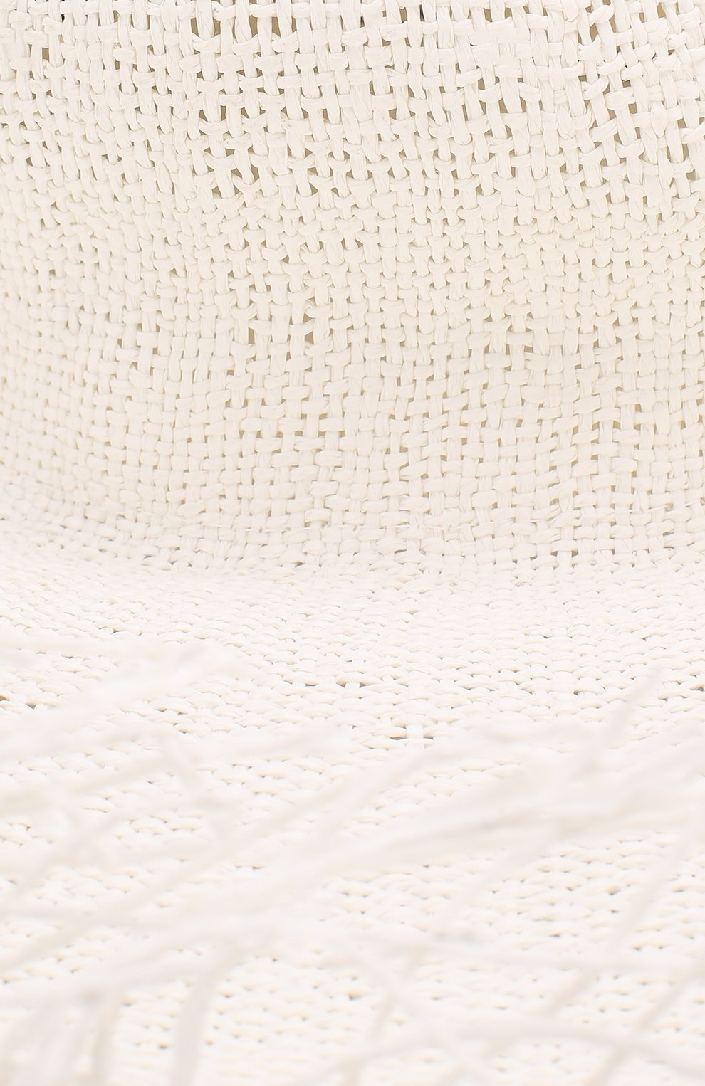 Женская шляпа JACQUEMUS белого цвета, арт. 191AC03 | Фото 3