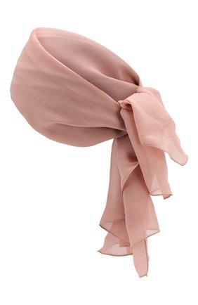 Шелковая повязка на голову | Фото №2