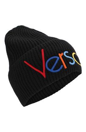 Шерстяная шапка с логотипом | Фото №1