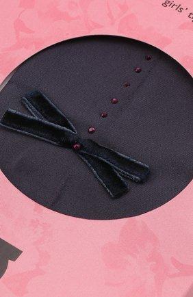 Детские колготки party collection 30 den YULA темно-серого цвета, арт. YU-19   Фото 2 (Статус проверки: Проверено, Проверена категория; Материал: Текстиль, Синтетический материал)