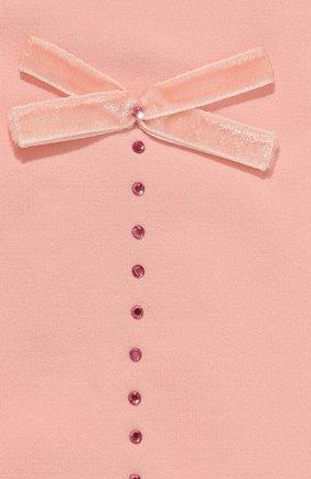 Детские колготки party collection 30 den YULA розового цвета, арт. YU-21   Фото 2 (Материал: Текстиль, Синтетический материал; Статус проверки: Проверено, Проверена категория)