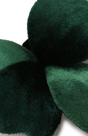 Мужская булавка для галстука FLOWER ME зеленого цвета, арт. THREE-VT008010S | Фото 3
