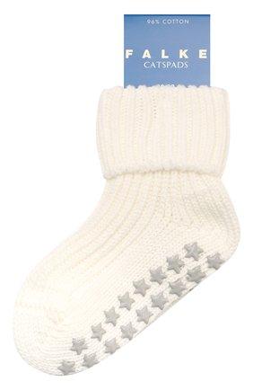 Детские хлопковые носки FALKE бежевого цвета, арт. 10603 | Фото 1