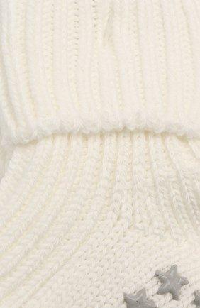Детские хлопковые носки FALKE бежевого цвета, арт. 10603 | Фото 2