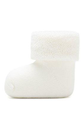 Детские хлопковые носки FALKE белого цвета, арт. 10612 | Фото 2