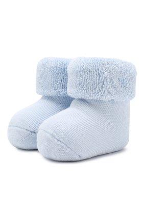 Детские хлопковые носки FALKE голубого цвета, арт. 10612 | Фото 1