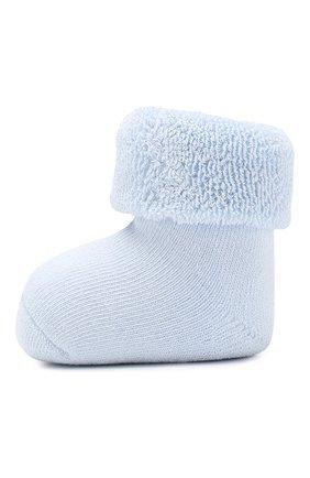 Детские хлопковые носки FALKE голубого цвета, арт. 10612 | Фото 2