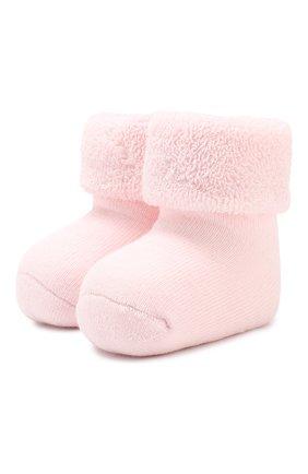 Детские хлопковые носки FALKE светло-розового цвета, арт. 10612 | Фото 1