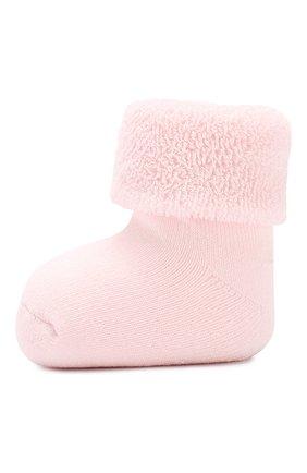 Детские хлопковые носки FALKE светло-розового цвета, арт. 10612 | Фото 2