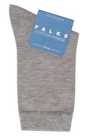 Детские хлопковые носки FALKE светло-серого цвета, арт. 10669 | Фото 1