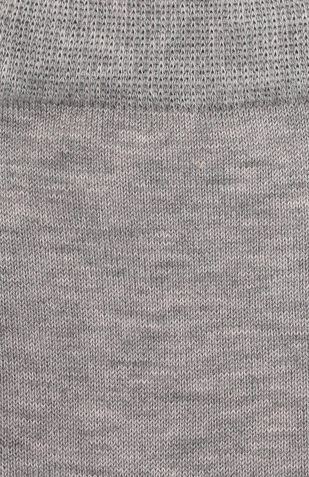 Детские хлопковые носки Falke светло-серого цвета   Фото №2