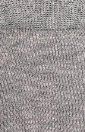 Детские хлопковые носки FALKE светло-серого цвета, арт. 10669 | Фото 2