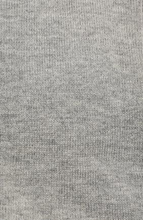 Детские хлопковые гольфы FALKE серого цвета, арт. 11645 | Фото 2