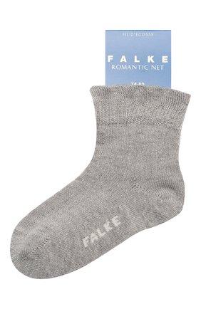Детские хлопковые носки FALKE светло-серого цвета, арт. 12120 | Фото 1