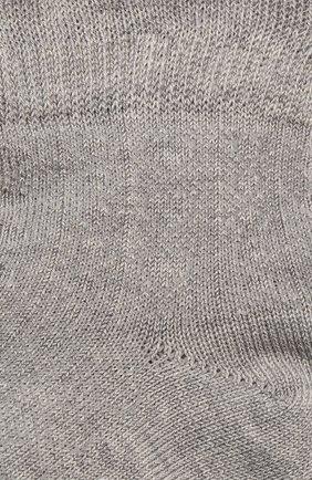 Детские хлопковые носки FALKE светло-серого цвета, арт. 12120 | Фото 2