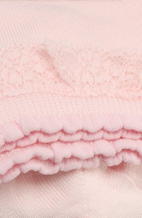 Детские хлопковые носки FALKE светло-розового цвета, арт. 12141 | Фото 2