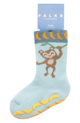 Детские хлопковые носки FALKE голубого цвета, арт. 12182 | Фото 1