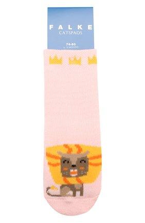 Детские хлопковые носки FALKE розового цвета, арт. 12183 | Фото 1