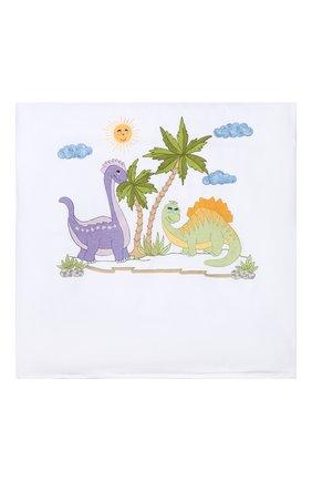 Детского комплект из 4-х предметов для бортов кроватки LORETTA CAPONI белого цвета, арт. 191K17318301701 | Фото 2