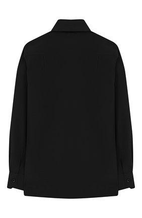 Детская хлопковая рубашка DOLCE & GABBANA черного цвета, арт. L42S77/FJ5FR/2-6 | Фото 2
