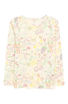 Детский хлопковая пижама STELLA MCCARTNEY разноцветного цвета, арт. 547794/SMJE8   Фото 2