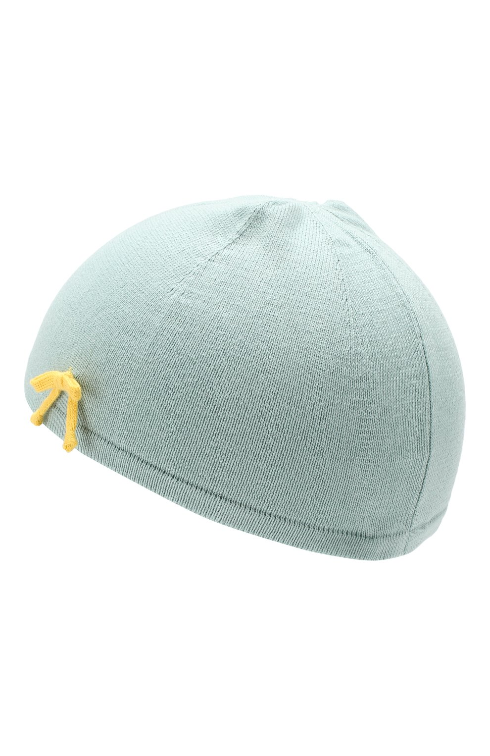 Хлопковая шапка Baby T зеленого цвета   Фото №2