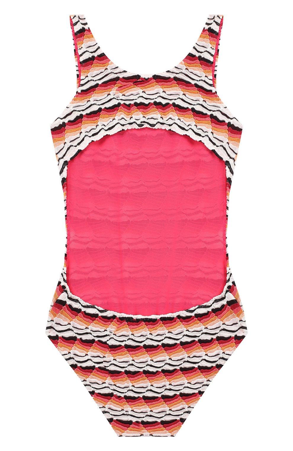 Слитный купальник Missoni розового цвета   Фото №2