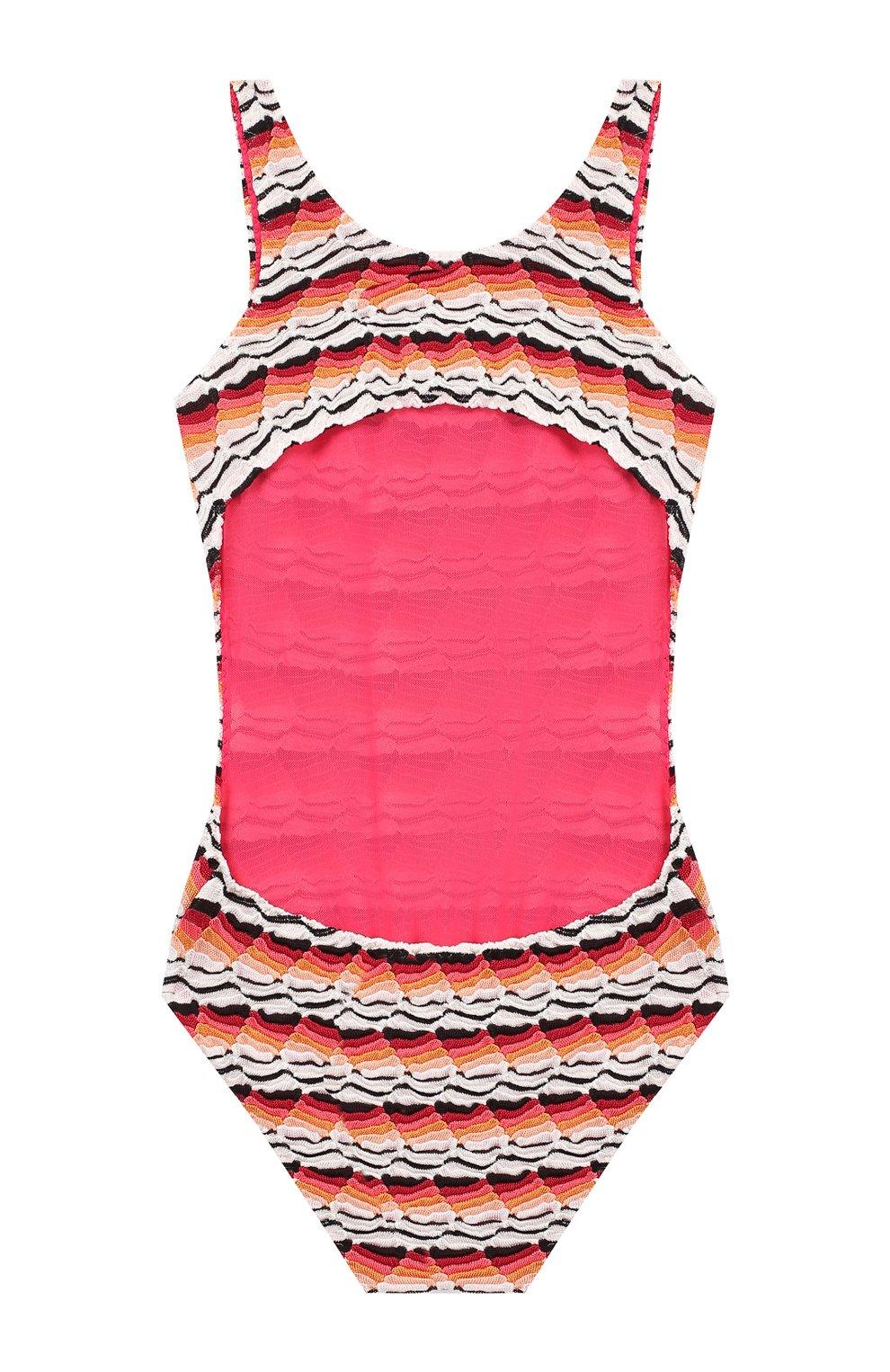 Слитный купальник Missoni розового цвета | Фото №2